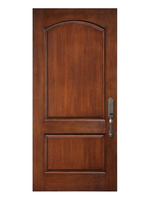Fiberglass Door 2 Panel Camber Top Prestige Novatech