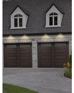 Fenêtres de porte de garage