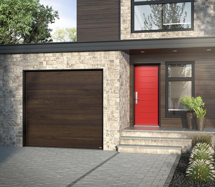 How should you pair your entry door with your garage door?