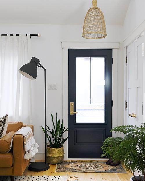 Front Door Refresh with Novatech!