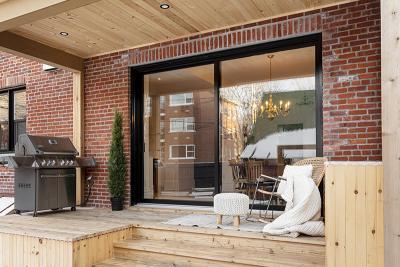 Les avantages d'agrandir sa porte patio