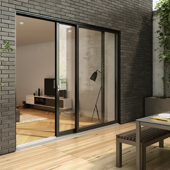 PVC, Aluminum or Hybrid? Choosing Your Patio Door