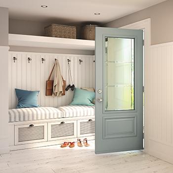 5 id es pour maximiser le rangement dans le hall d entr e. Black Bedroom Furniture Sets. Home Design Ideas